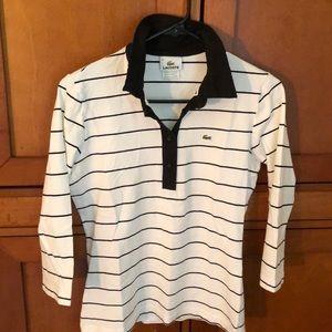 Lacoste women's quarter sleeves polo